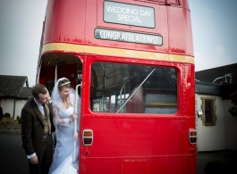 Red Routemaster Wedding Bus Hire In Basildon